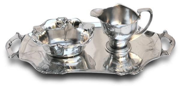 Оловянная посуда